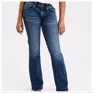 American Eagle Kick Boot Super Stretch Jeans - 14